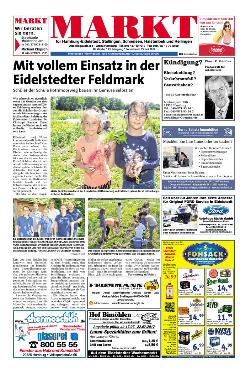Wochenendzeitung Fur Hamburg Eidelstedt Stellingen Schnelsen